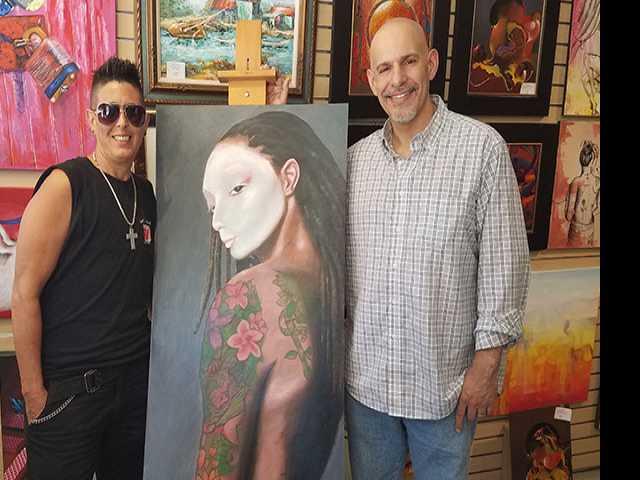 Florida Artist Dismisses Gender Binaries