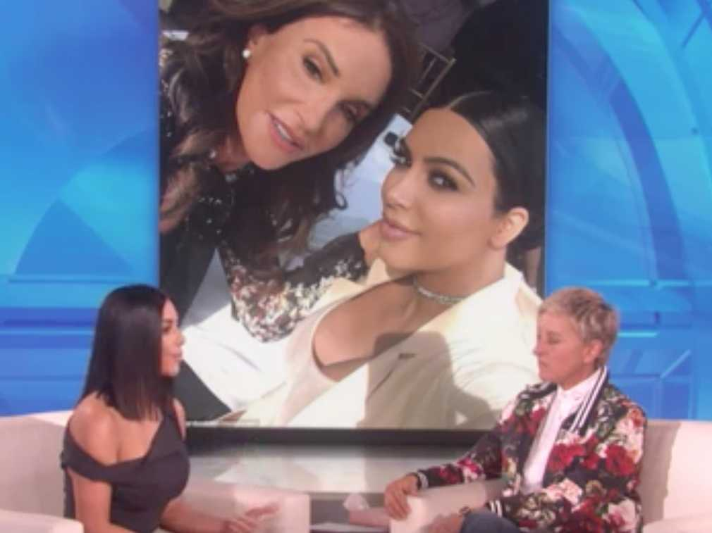 Watch: Kim Kardashian Says Caitlyn Jenner's New Book is 'Hurtful'