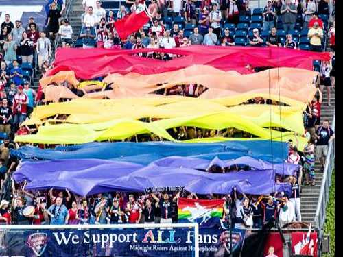 Boston Pride and Midnight Riders Announce Pride Night with the New England Revolution