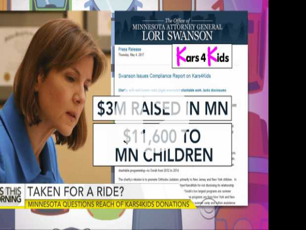 Kars4Kids Charity Misleads Donors, Report Says