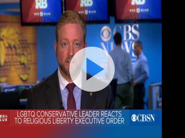 Gay GOP Leader Backs Trump in Face of 'Religious Liberty' Executive Order