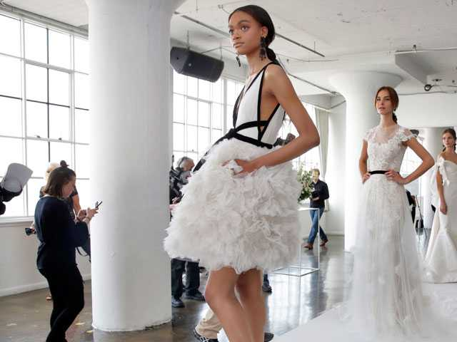 Bridal Trendspotting: Beads and Black Accents