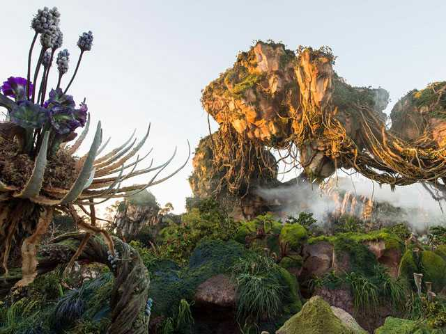 First Look: Disney World's Pandora-World of Avatar Land