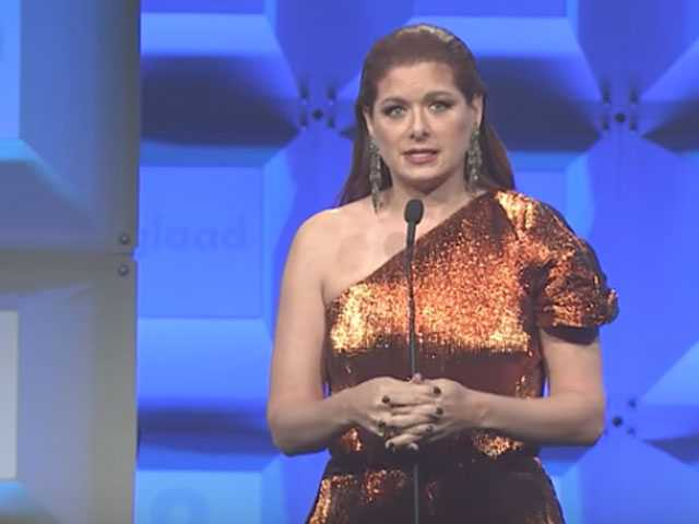 Watch: Debra Messing Appeals to Ivanka at NYC's GLAAD Awards, 'One Jewish Mother to Another'