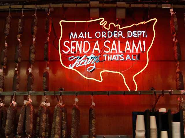 Meat Mail: Katz's Famous Deli Goes Postal