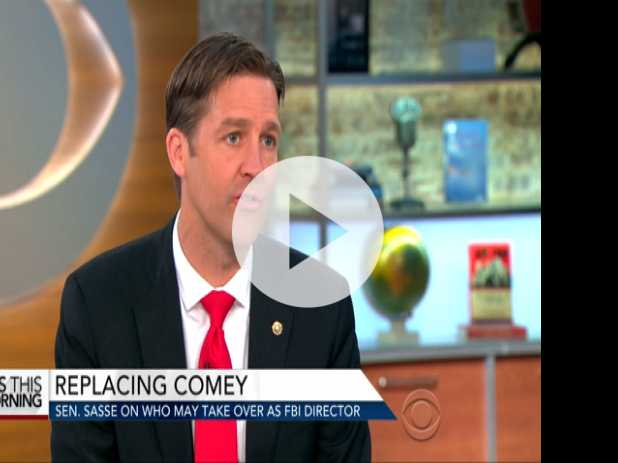 Sen. Ben Sasse on Firing of FBI Director, New Book