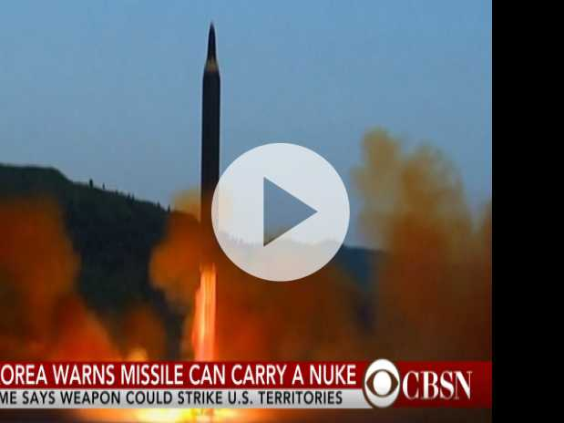 North Korea Warns That Nuclear-Armed Missile Can Strike U.S. Territory