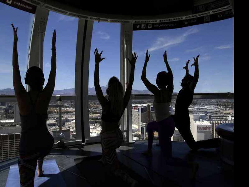 Namaste: New Ways to Chill Out in Las Vegas