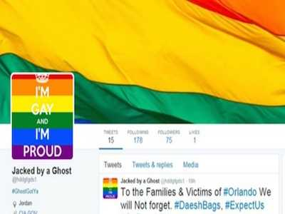 Anonymous Hacks ISIS Twitter Account, Fills It With Gay Porn