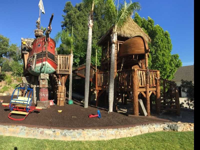 Backyard Flight of Fancy: Hobbits, Dragons, Pirates, Oh My!