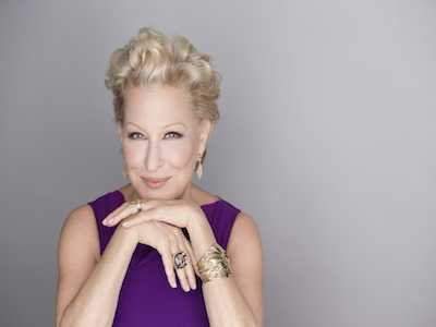 Bette Midler Receives Distinguishes Achievement in Musical Theater Award
