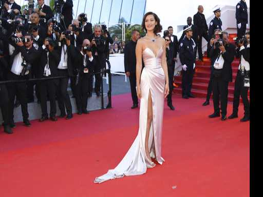 Oops! Bella Hadid Suffers Wardrobe Malfunction at Cannes