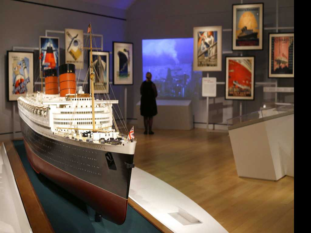 Exhibit Explores Heyday of Luxury Ocean Liners