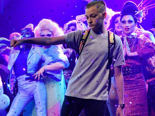 Watch: Katy Perry's 'Backpack Kid' Steals Show During 'SNL' Gig