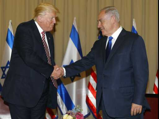 Trump Says He Didn't Mention Israel in Meeting with Russians