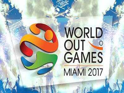 U of Miami Honors Lady Gaga's Mom at OutGames Miami's Opening Ceremonies