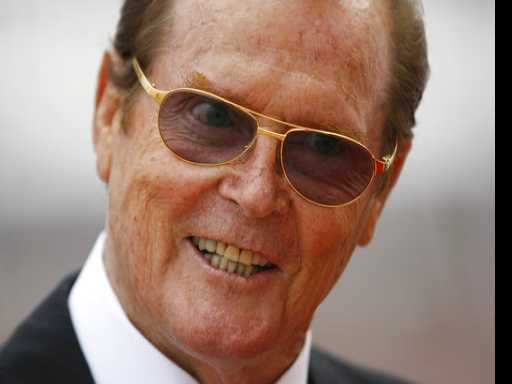 Reaction to Death of Actor Roger Moore at Age 89