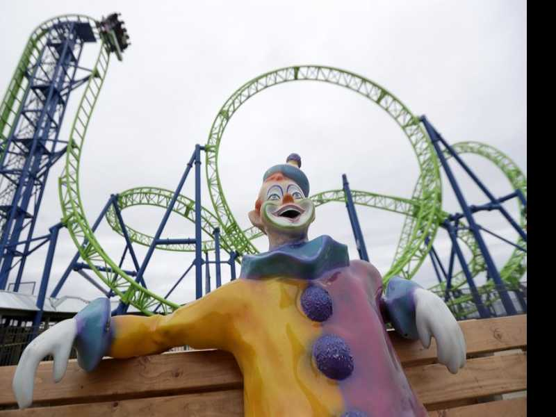 New Roller Coaster Replaces One Sandy Plunged Into the Sea