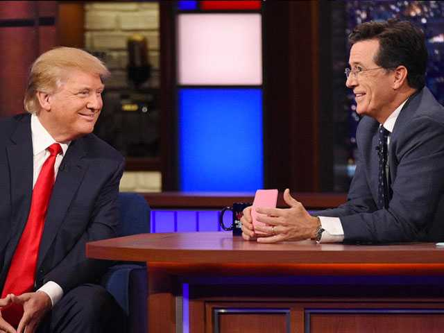 FCC Says No Fine for Stephen Colbert for Trump Joke
