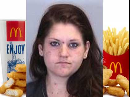 Only in Florida: Woman Charges Undercover Cop $25, Order of McNuggets for Oral Sex
