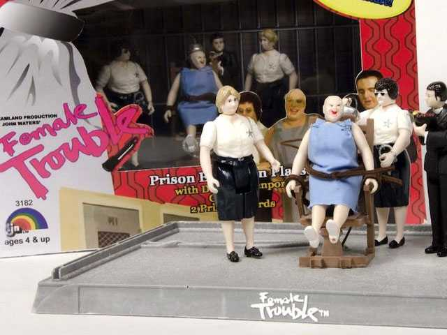 Did Divine Just Get a Dream House? Exhibit of John Waters Movies Action Figure Toys Opens in NYC