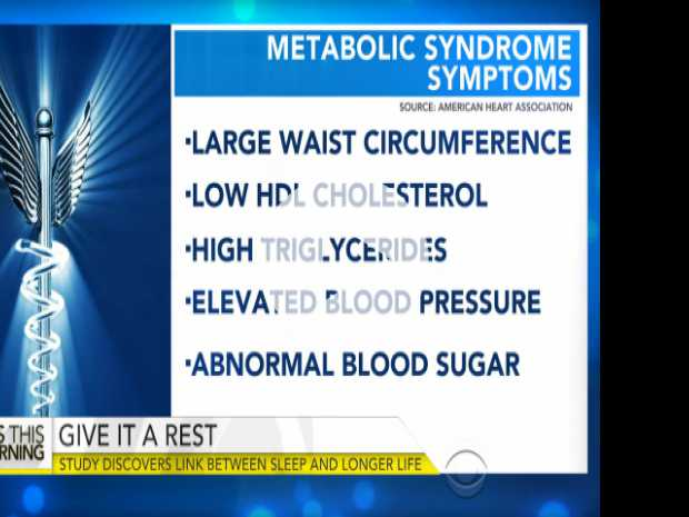 How Sleep Impacts Those With Metabolic Syndrome