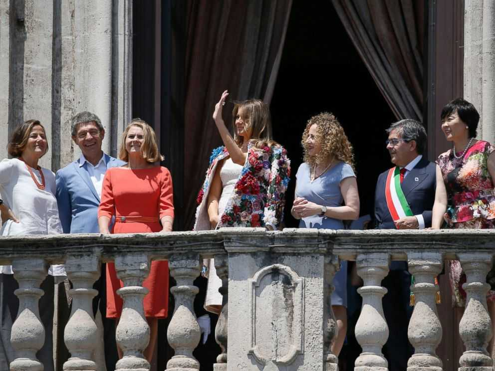 Melania's Pricey Jacket Draws Attention in Sicily