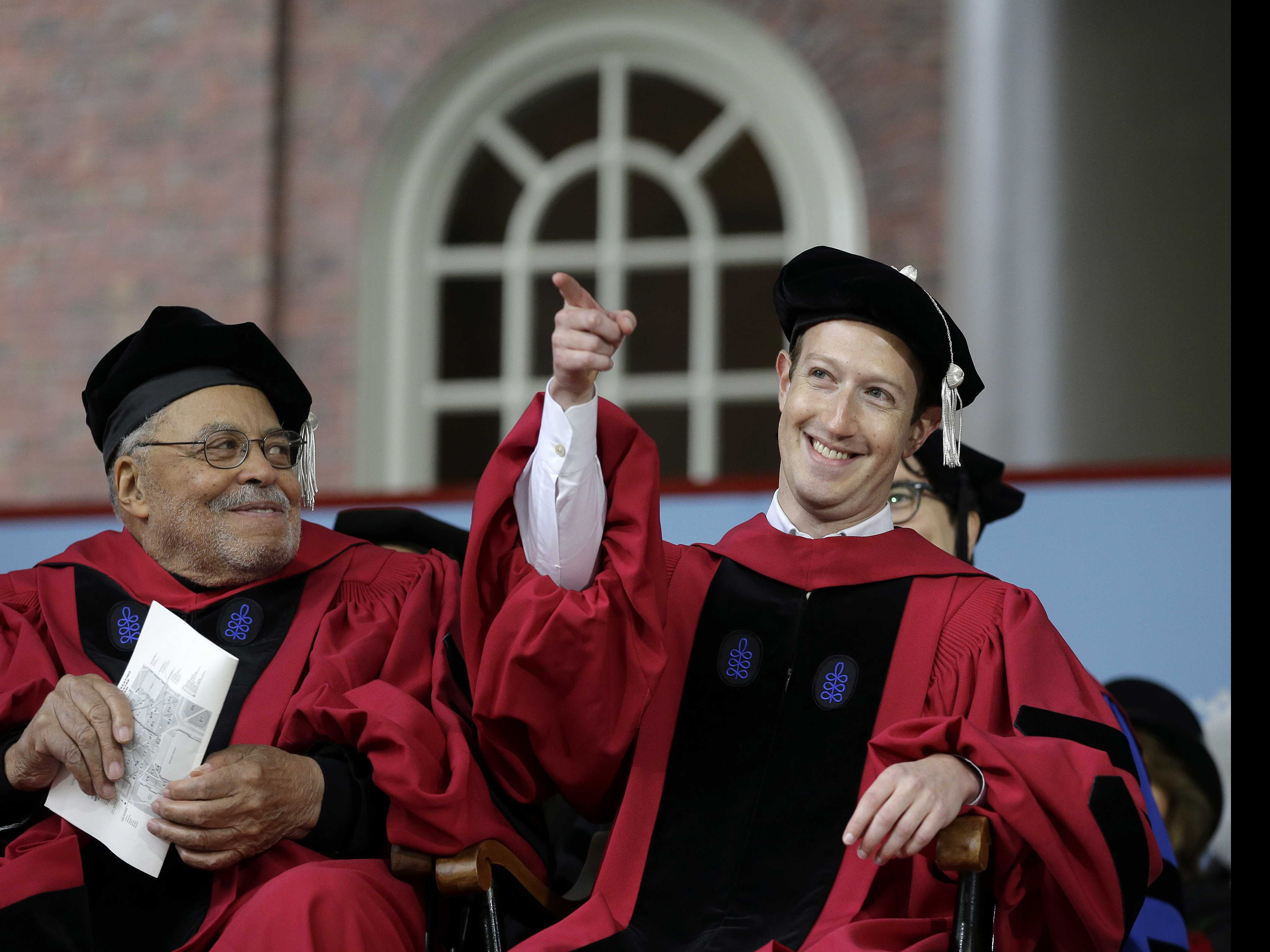 Dear, Harvard: 10 Memorable Quotes from Zuckerberg's Speech