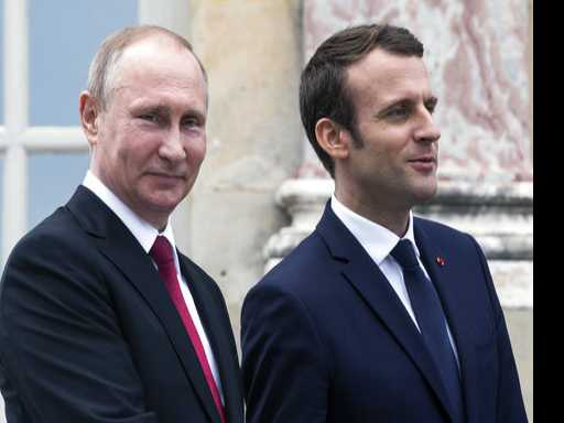 French President Flexes Diplomatic Muscles in Putin Meeting