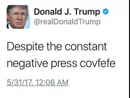 Dumb-Ass Lists: EDGE's Favorite 'Covfefe' Tweets