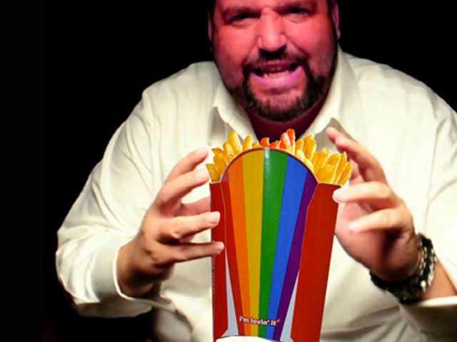 McDonald's Rainbow Fries Box has Anti-Gay 'Rantaholic' Seeing Red