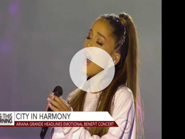 Ariana Grande Headlines Emotional Manchester Benefit Concert
