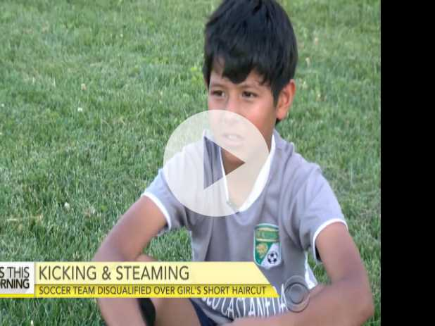Soccer Team Disqualified After Girl Player Mistaken for Boy