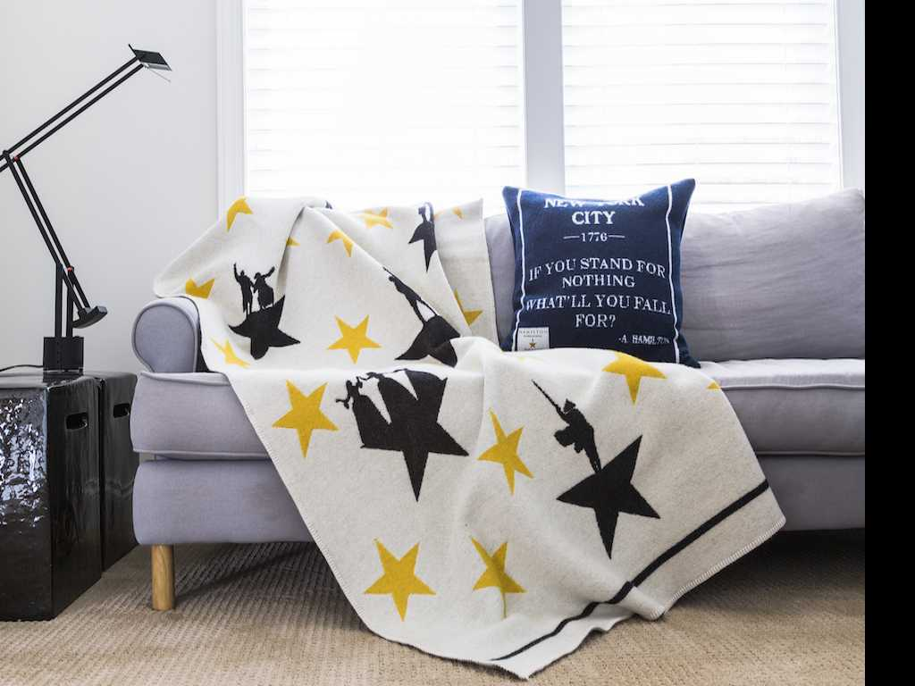 'Hamilton' Adds Pillows and Throws to Its Swag Collection