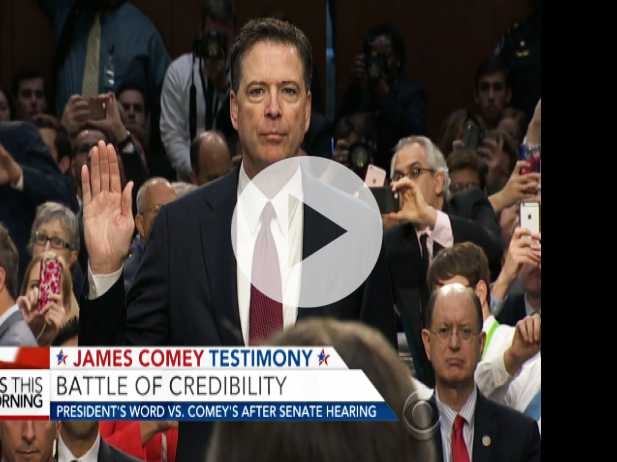 Battle of Credibility Between Trump and Comey After Testimony