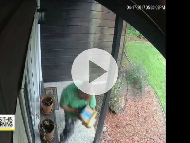 Police Try Bait Packages to Nab 'Porch Pirates'