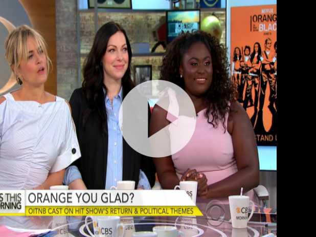 Stars of 'Orange Is the New Black' on New Season, Political Themes