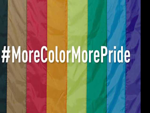 More Color More Pride: Pride Flag Redesign Includes LGBT People of Color