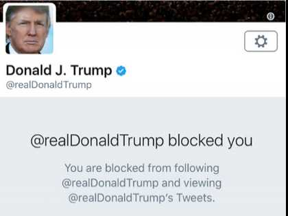 Snowflake Can't Take the Heat: Trump Blocks Veteran's Group on Twitter