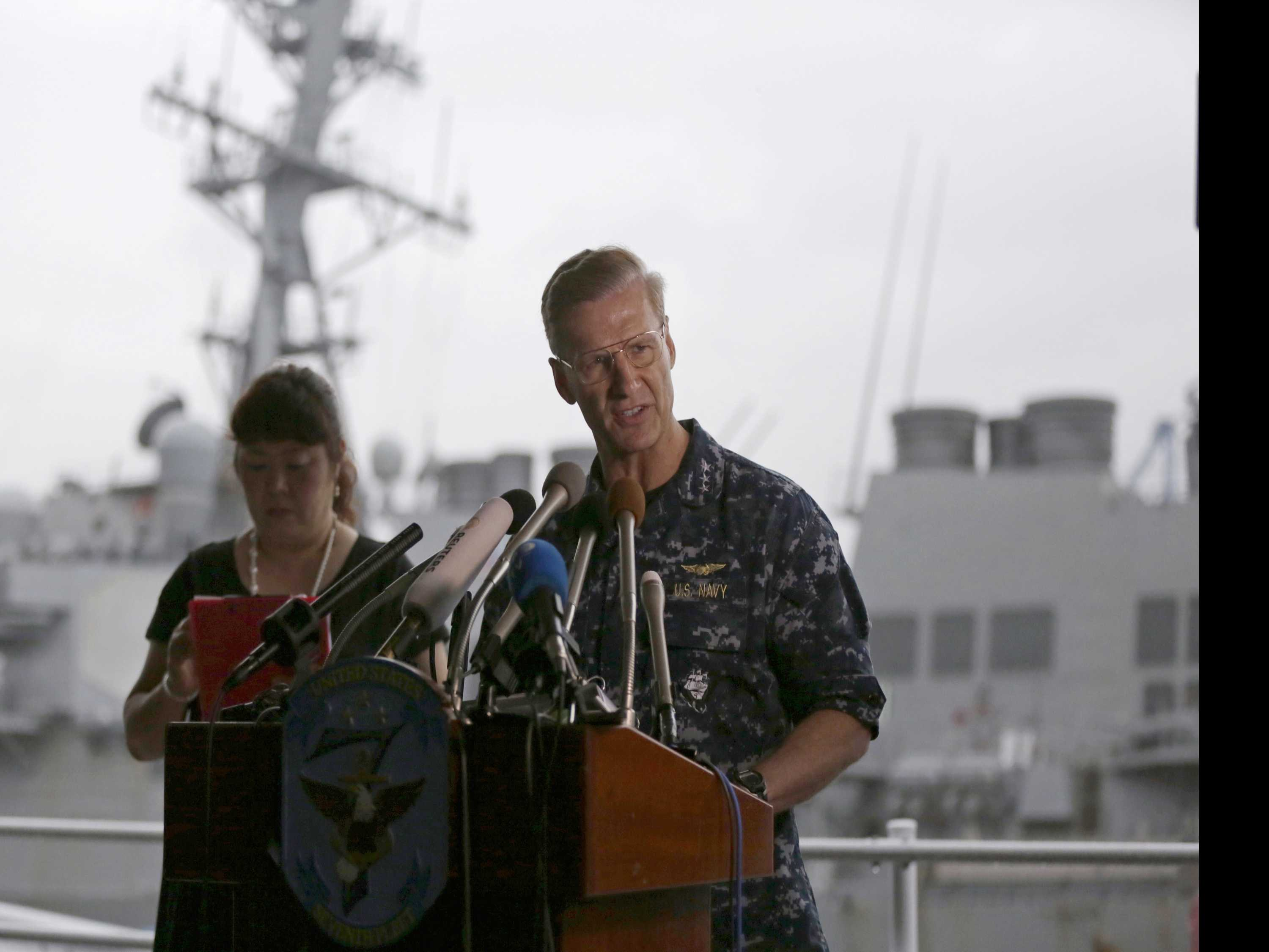Navy Stops Search for 7 Missing Sailors After Bodies Found
