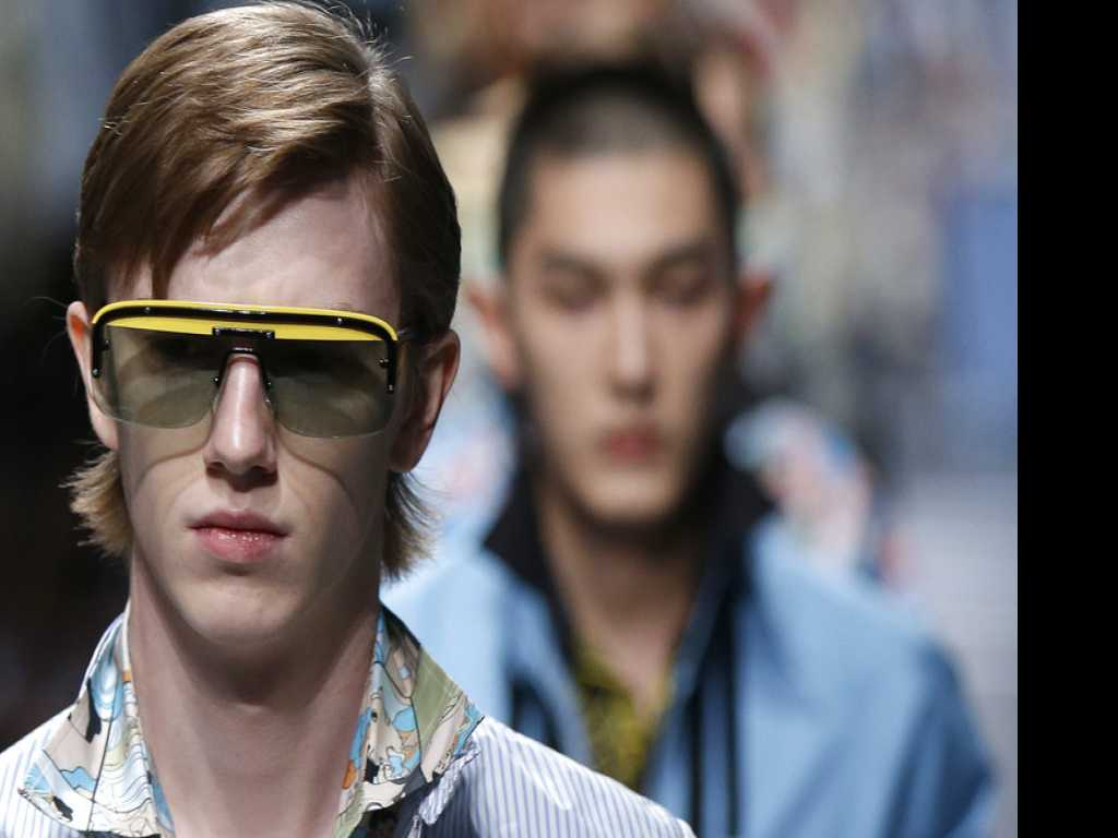 Prada Takes Inspiration From Graphic Novels for Milan Show