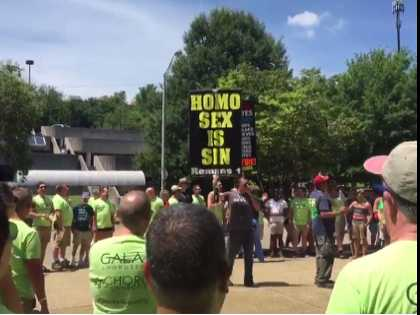 Watch: DC's Gay Men's Chorus Drowns Out Anti-LGBT Bigots at Knoxville Pride