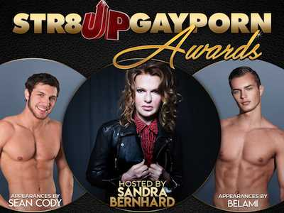 Sandra Bernhard Hosts Str8UpGayPorn Awards