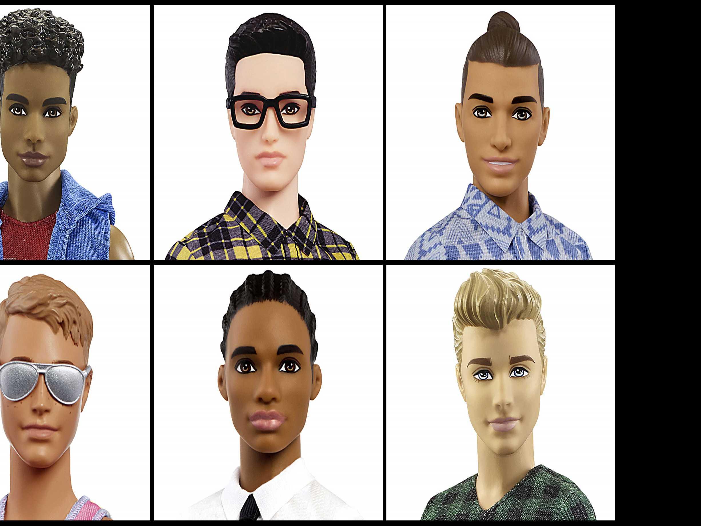 Barbie's Companion Ken Gets New Looks: Man Bun, Beefy Bod