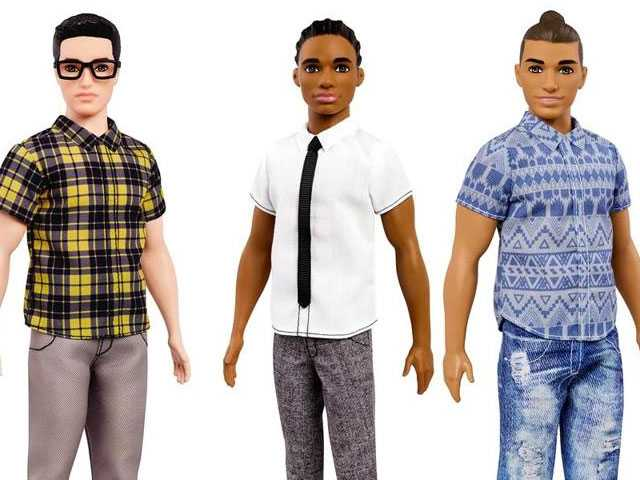 Ken Dolls Get Straighter with Dad Bods and Gayer with Man Buns