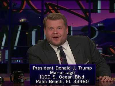 Watch: In Attempt to Educate Trump on AIDS, James Cordon Sends President 297 Copies of 'Philadelphia'