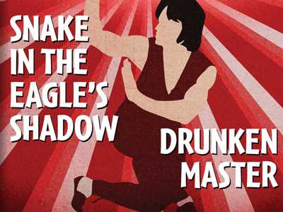 Review :: Snake In The Eagle's Shadow/Drunken Master (Double Feature)