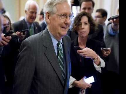 McConnell Faces Hunt for GOP Votes for Senate 'Favor the Rich' Health Bill
