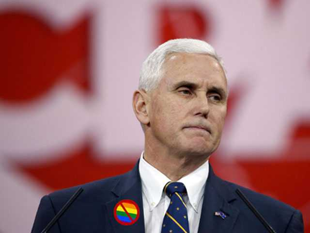 Happy Pride! Pence to Help Anti-LGBT Group Celebrate 40th Anniversary on Friday
