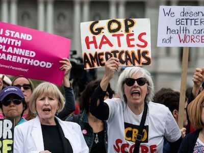 Female Legislators Rise Up Against Closed Door AHCA